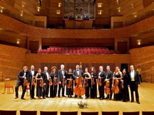 Philadelphia Virtuosi at the Mariinsky after the concert.